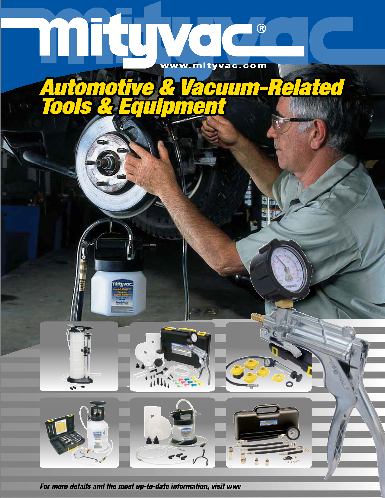 Automotive and Vacuum-Related Tools & Equipment