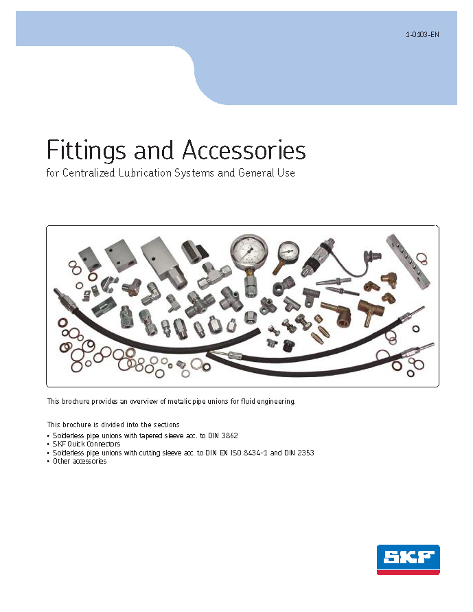 SKF Fittings and Accessories